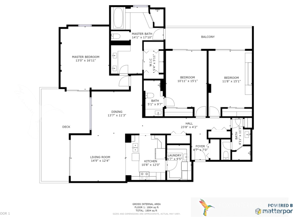 Real Estate Floor Plan with 3D Tours