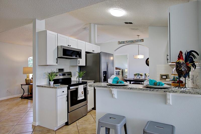 Staged Kitchen-deltona-florida