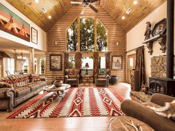 southwestern-design-style-family-room-deltona-florida