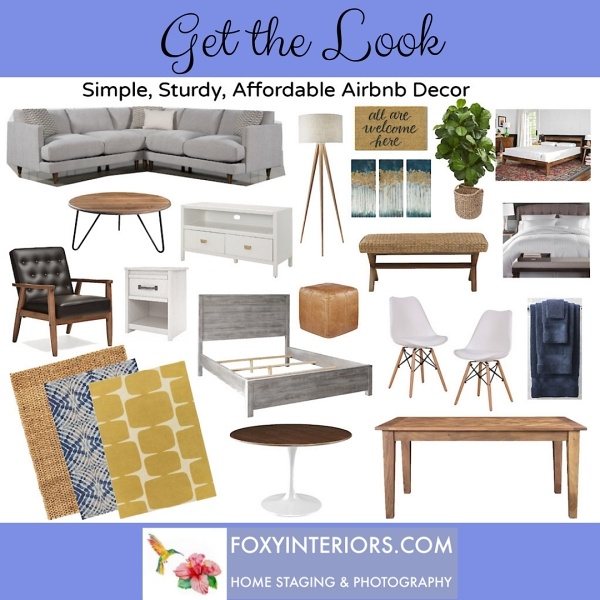 decorate your rental with affordable decor